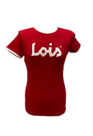 camiseta lois roja mujer